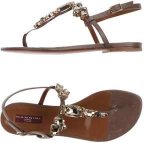 Nannini Toe strap sandals