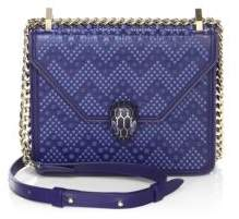 Bvlgari x Nicholas Kirkwood Serpenti Forever Studded Leather Chain Crossbody Bag