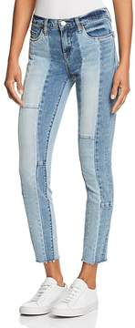 Blank NYC BLANKNYC Contrast Patchwork Jeans in Midtown Madness
