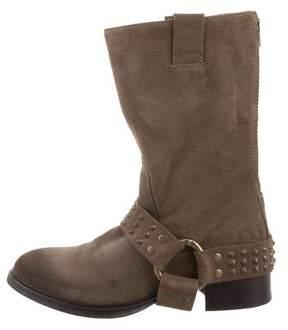 Zadig & Voltaire Suede Mid-Calf Boots