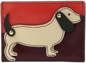 Tory Burch Dachshund Slim Card Case Credit card Wallet - LIBERTY RED - STYLE
