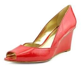 Alfani Kendol Open Toe Synthetic Wedge Heel.