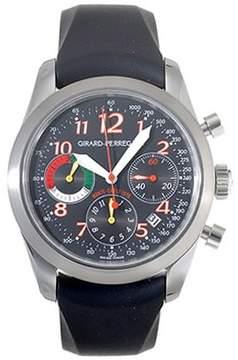 Girard Perregaux Sport Classique Stainless Steel Black Rubber Men's Watch