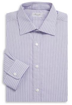 Charvet Check Cotton Casual Button-Down Shirt