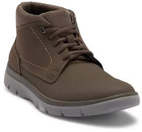 Clarks Tunsil Mid Stone Sneaker