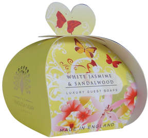 Smallflower White Jasmine and Sandalwood Guest Soap by The English Soap Company (2oz Soap)