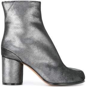 Maison Margiela metallic Tabi boots