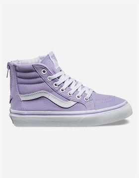 Vans Sk8-Hi Zip Girls Shoes