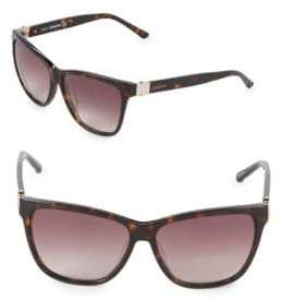 Swarovski 56MM Square Sunglasses