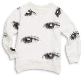 Nununu Toddler's & Little Boy's Eye Cotton Sweatshirt