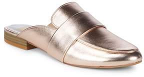 Dolce Vita Women's Celene Metallic Leather Mules