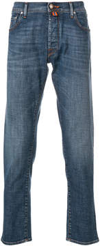 Jacob Cohen faded straight leg jeans