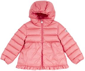 Moncler Odile Frill Hem Coat