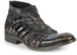 John Varvatos Freeman Leather Ankle Boots