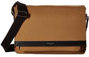 Michael Kors Grant Large Dark Camel Messenger Bag