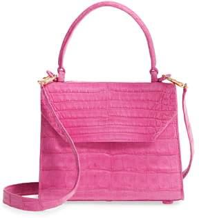 Nancy Gonzalez Mini Lily Genuine Crocodile Crossbody Bag