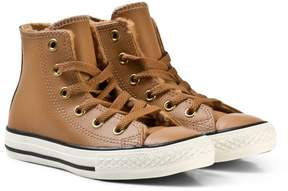 Converse Brown Kids Chuck Taylor All Star Hi-Tops