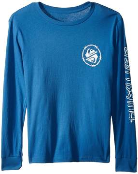 Quiksilver Critical Dates Long Sleeve Top Boy's Long Sleeve Pullover