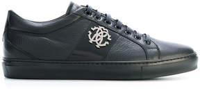 Roberto Cavalli logo sneakers