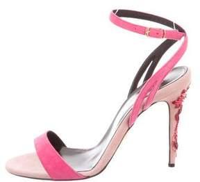 Oscar de la Renta Opina Embellished Sandals w/ Tags