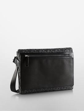 Jacquard City Messenger Bag