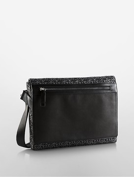 Calvin Klein Jacquard City Messenger Bag