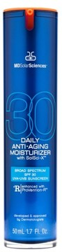MDSolarSciences TM) Daily Anti-Aging Moisturizer With Solsci-X(TM) Broad Spectrum Spf 30 Uva-Uvb Sunscreen