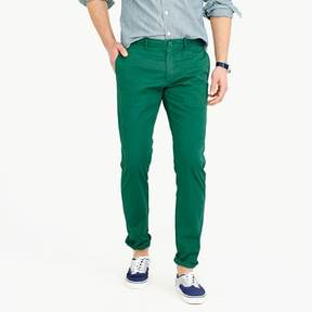 J.Crew Lightweight garment-dyed stretch chino pant in 484 slim fit