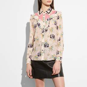 Coach New YorkCoach Western Lace Blouse