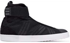 Y-3 Mesh-Layered Suede-Trimmed Neoprene And Rubber Sneakers
