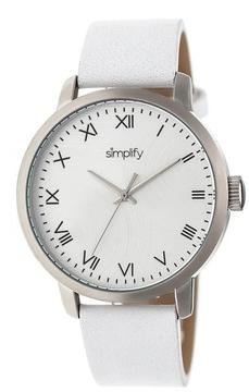 Simplify The 4200 Collection SIM4201 Stainless Steel Analog Watch
