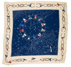 Louis Vuitton America's Cup Scarf