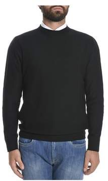 H953 Men's Black Wool Sweater.