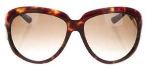 Marc Jacobs Tortoiseshell Acetate Sunglasses