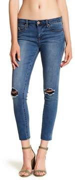 Articles of Society Carly Raw Hem Cropped Jeans