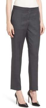 BOSS Tiluna Windowpane Slim Leg Trousers
