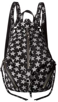 Rebecca Minkoff Convertible Mini Julian Backpack Backpack Bags - BLACK - STYLE