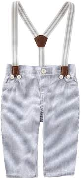 Osh Kosh Oshkosh Bgosh Baby Boy Striped Suspender Pants