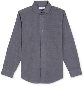 Calvin Klein Open Dot Shirt, Big Boys (8-20)