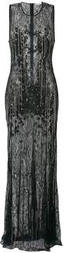 Amen lace dress with chain embellishment