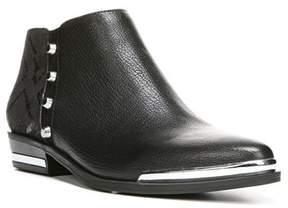 Fergie Womens Indigo Leather Closed Toe Ankle Fashion Boots.