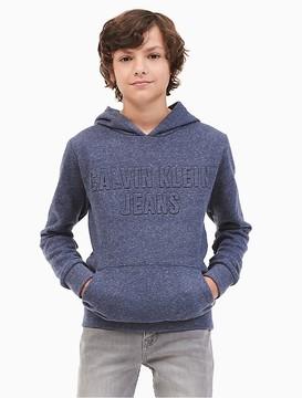 Calvin Klein Jeans Boys Fleece Logo Hoodie