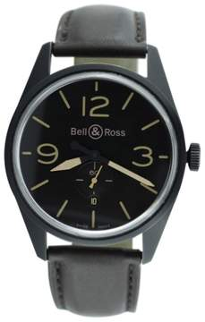 Bell & Ross BR123 PVD Stainless Steel & Leather 42mm Watch