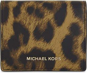 MICHAEL Michael Kors Mercer leather card case - BUTTERSCOTCH - STYLE