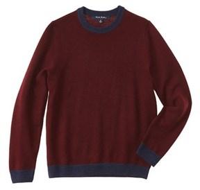 Brooks Brothers Boys' Burgundy Wool Sweater.