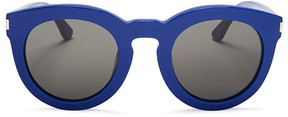 Saint Laurent Surf Round Sunglasses, 47mm