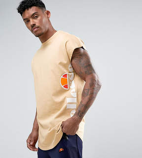 Ellesse T-Shirt With Cap Sleeve