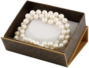 Bella Pearl White Freshwater Pearl Boxed Jewelry Set SET-H
