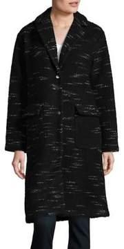 Bernardo Wool Sweater Coat