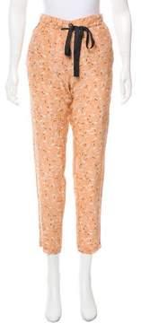 Giada Forte Printed Mid-Rise Pants
